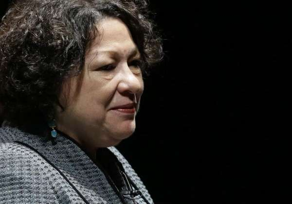 Supreme Court Justice Sonia Sotomayor in Newark, Del.