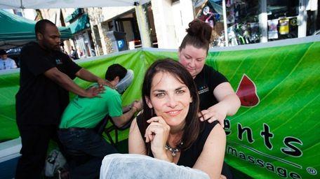 Melissa Catalano, owner of Elements Massage on Sunrise