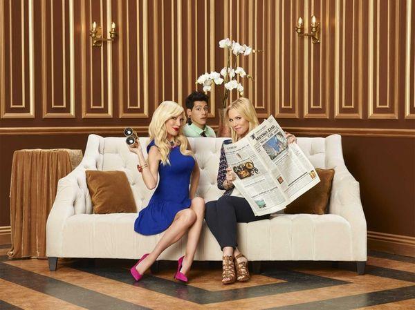 "ABC Family's ""Mystery Girls"" stars (from left) Tori"