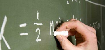 Classroom chalkboard.