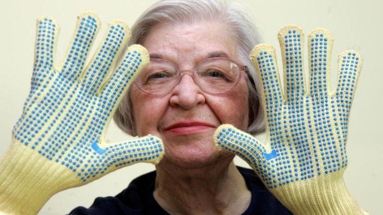 Stephanie Kwolek, 83, shown in this June 20,