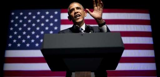 President Barack Obama speaks at the Democratic National
