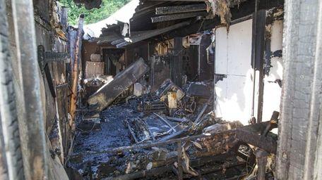 A fatal overnight fire in Mattituck that apparently