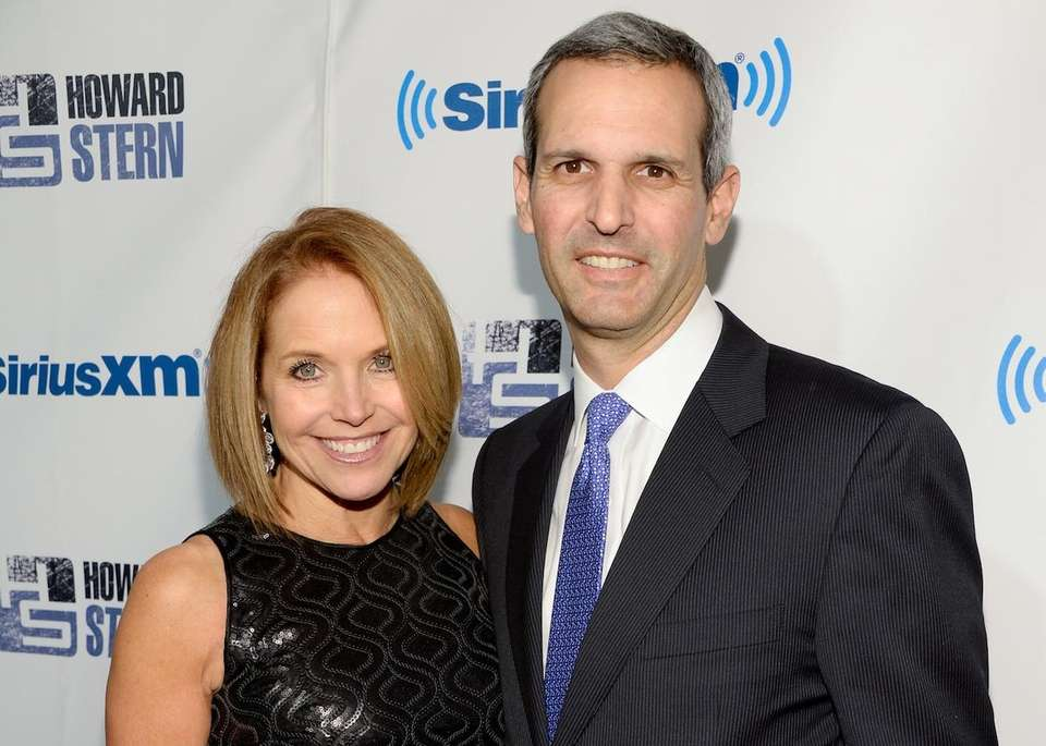 Journalist Katie Couric married John Molner in a