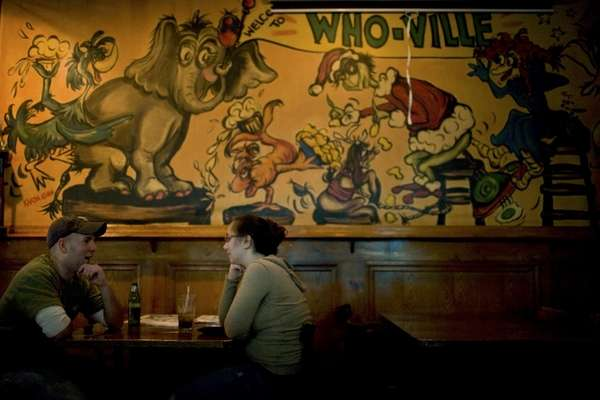 Inside Who-Ville Bar and Grill in Bethpage.