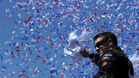 Carl Edwards, driver of the #99 Aflac Ford,