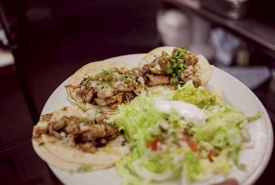 Bi-level Farmingdale Mexican restaurant Chichimecas serves authentic soft
