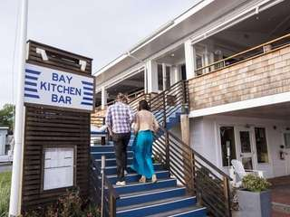 Bay Kitchen Bar, a New American and seafood