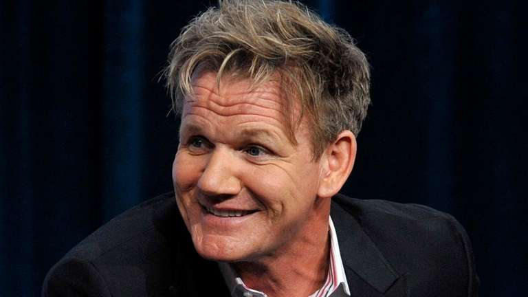 Gordon Ramsay attends the FOX Summer TCA press