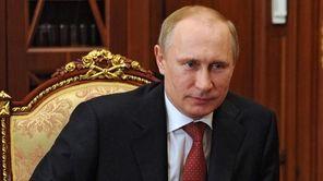 This file photo shows Russian President Vladimir Putin