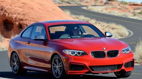 The BMW M235i earned 98 out of a