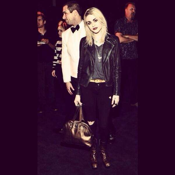 Frances Bean Cobain, daughter of Courtney Love and
