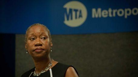 Anita Miller, Metropolitan Transportation Authority (MTA) director of