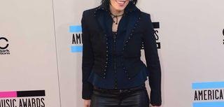 Joan Jett at the American Music Awards on