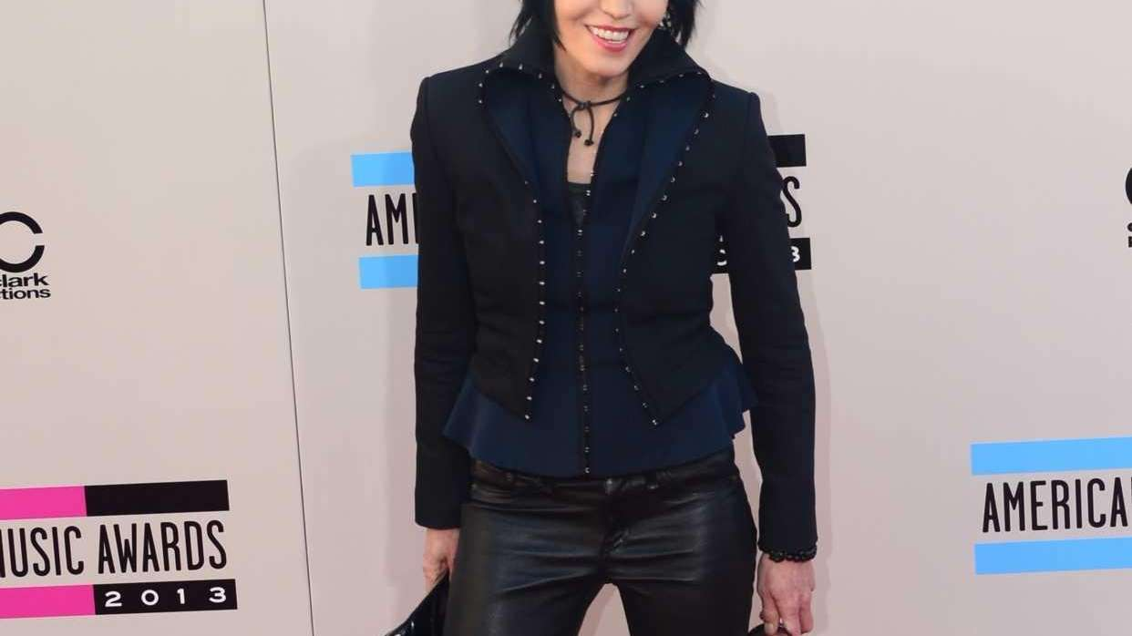 Joan Jett at the American Music Awards on