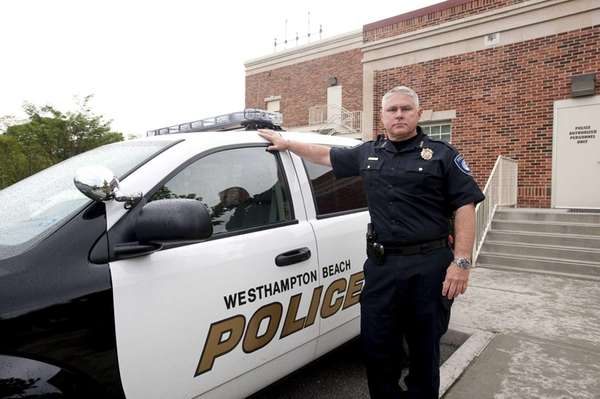 Westhampton Beach Police Department Chief Raymond Dean is