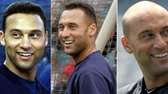 From left, Yankees shortstop Derek Jeter in 2001,