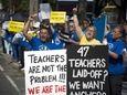 Hempstead's Franklin Elementary School teacher Juan Rincon and