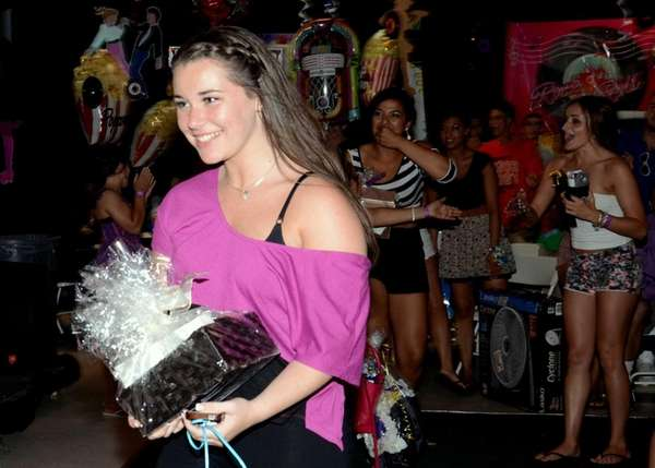 Islip High School senior Bailey Feiler, 17, wins