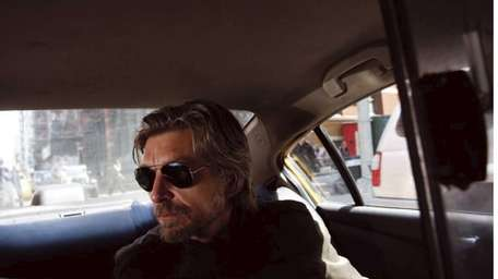 Norwegian author Karl Ove Knausgaard read to standing-room-only