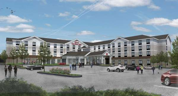 Rendering of new Hilton Garden Inn planned for