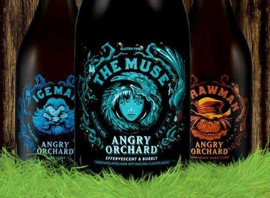 Effervescent Angry Orchard The Muse is a hard