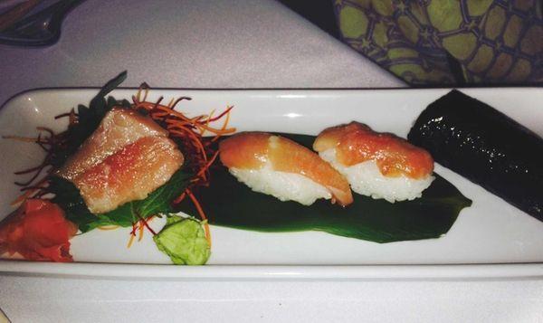 A toro, or fatty tuna, tasting highlights the