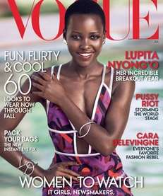 Lupita Nyong?o graces the cover of Vogue?s July
