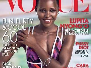 Lupita Nyong'o graces the cover of Vogue's July