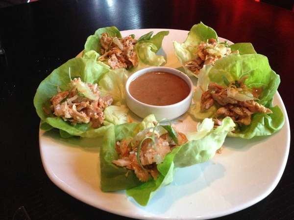 Monsoon in Babylon serves Bibb lettuce wraps with