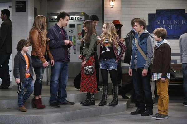 "In the ""Girl Meets World"" premiere episode, Riley"