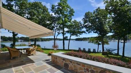 The Huntington Bay home has four bedrooms, three