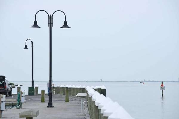 A view of the Maple St. dock in
