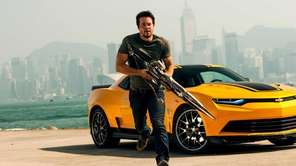"Mark Wahlberg as Cade Yeager in ""Transformers: Age"