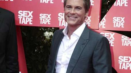 Rob Lowe promotes his film 'Sex Tape' on