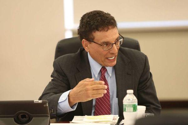 Matthew Cordaro speaks during the LIPA Board of