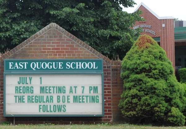 East Quogue school at 6 Central Avenue in