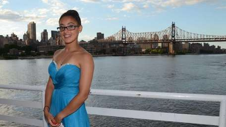 Oyster Bay High School senior Destiny Martinez, 17,