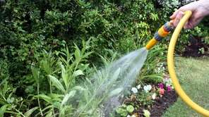 Keeping gardens and lawns properly watered is an
