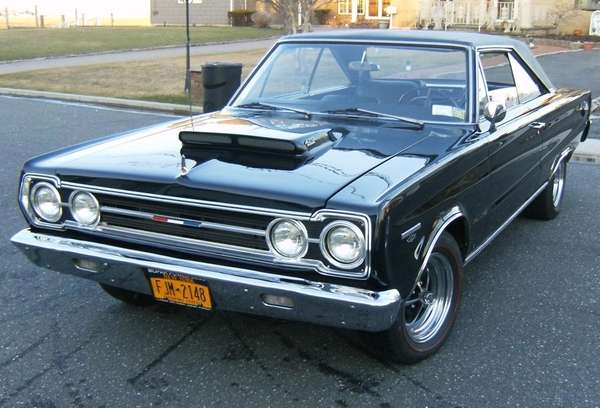 "This 1967 Plymouth GTX 426 ""Hemi"" is owned"