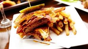 The grilled cheese cheeseburger is expertly made with