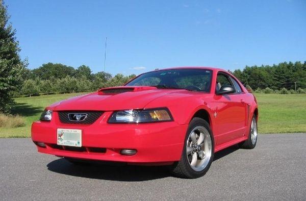 2002 Mustang GT.