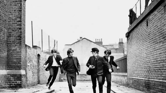 "The Beatles in Richard Lester's 1964 film ""A"