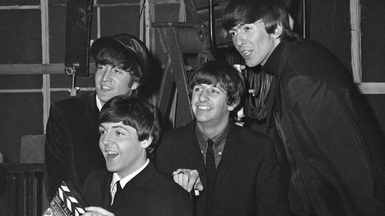 John Lennon, Paul McCartney, Ringo Starr and George