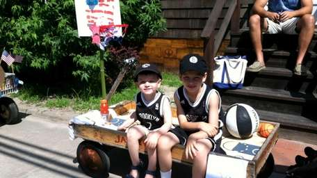 Owen and Tyler Brahe, then 2 and 6,