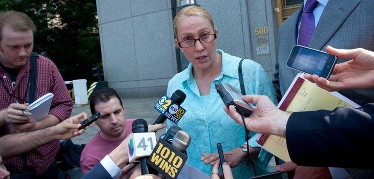 Assemb. Gabriela Rosa leaves federal court in Manhattan