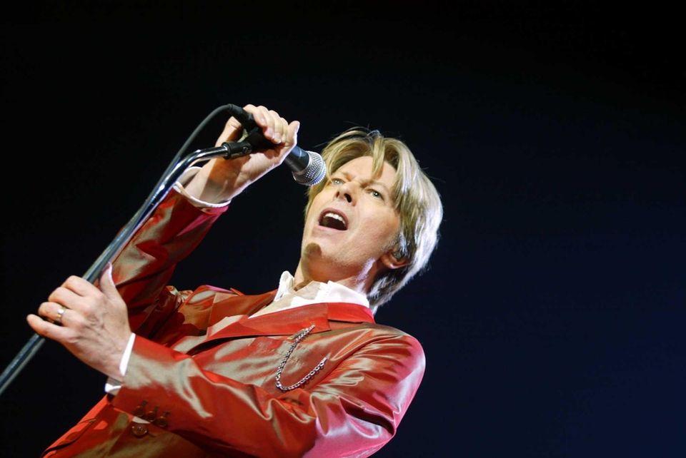 British singer David Bowie went disco with 1975's