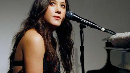 Musician Vanessa Carlton performs at the celebration of