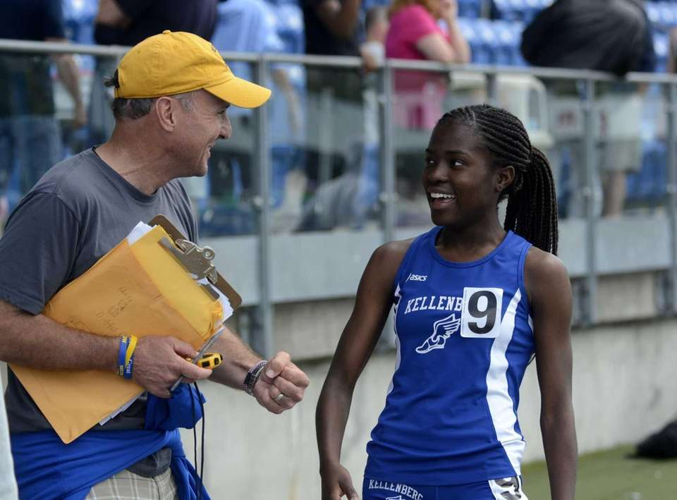 Kellenberg's Jazmine Fray is a top middle-distance runner