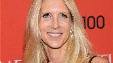 Ann Coulter arrives at the 2014 TIME 100